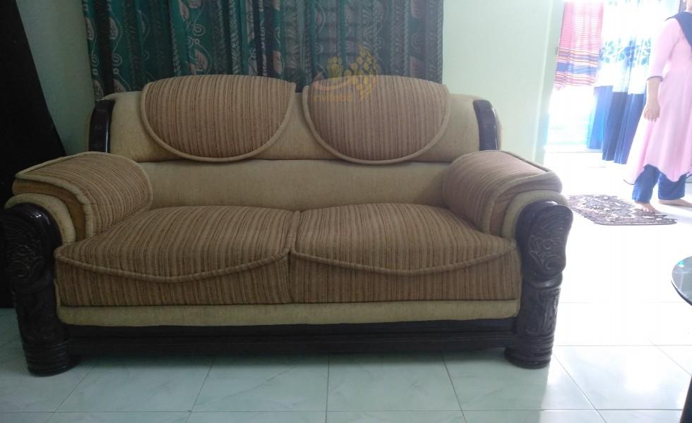 Sofa 2-2-1 total 3 ta.
