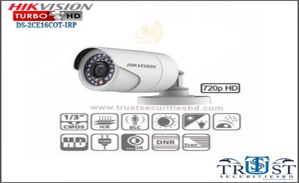 Hikvision HD Camera DS-2CE16COT-IRP - Invitebd